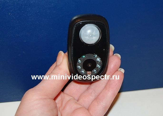 Скрытая микрокамера с датчиком движения и записью