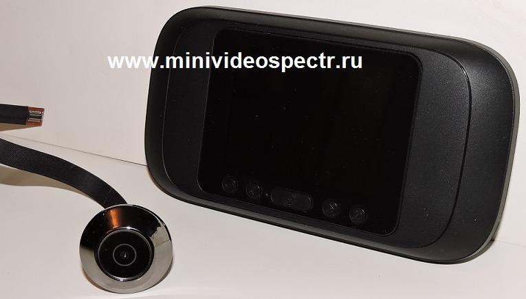 дверной глазок с видеокамерой беспроводной